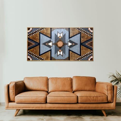 Wall Hangings by Skal Collective seen at Creator's Studio, İzmir - ''Naia'' Wood Wall Art