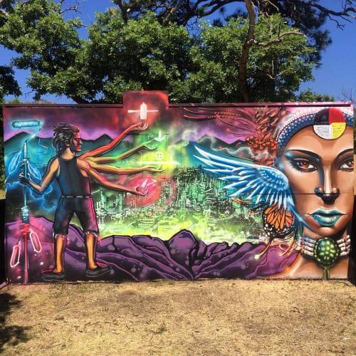 ZEHB ONE - Murals and Art