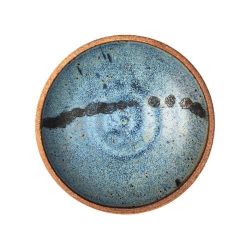Tableware by Sloane Angell seen at Private Residence, Culver City - Blue Ceramic Bowl