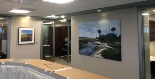 Fort George River Inlet | Paintings by Keith Doles | Mayo Clinic in Jacksonville