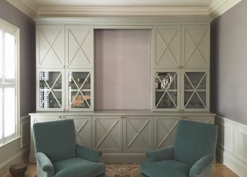 Furniture by Alamo Design Co seen at Private Residence - Messina Cabinet