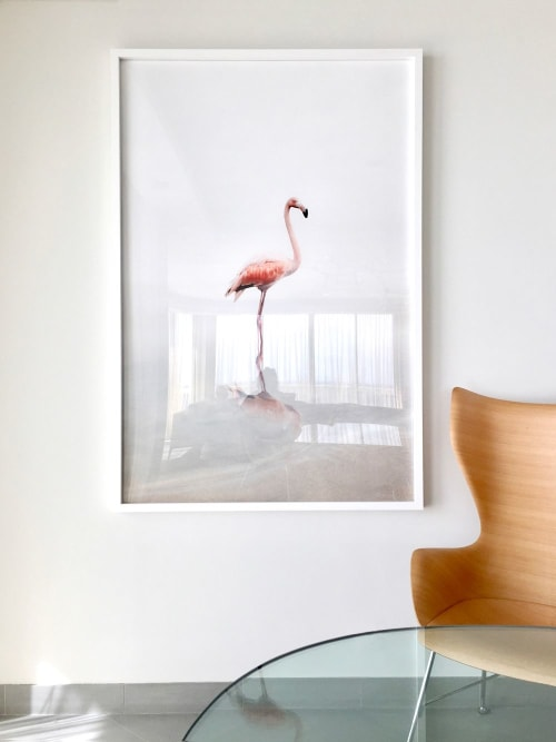 Photography by Alice Zilberberg seen at Private Residence - For Now Flamingo
