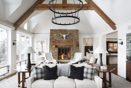 Wall Hangings by Dovetail Furniture seen at Private Residence, Aspen, Aspen - Wall Hangings
