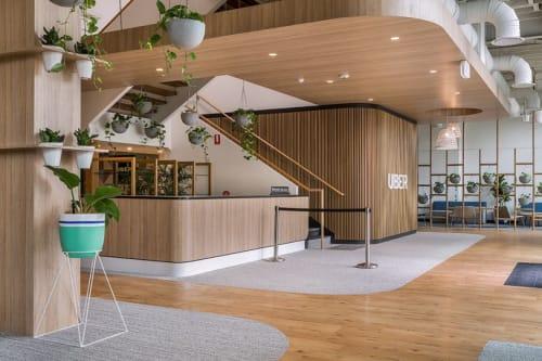 Interior Design by HOT BLACK at Uber Greenlight, West End - Interior Design