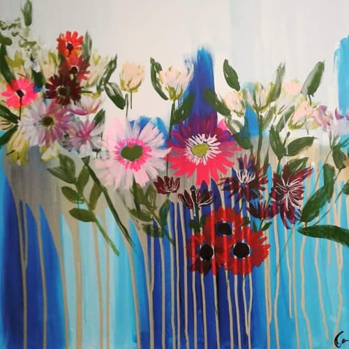 Art Curation by Colleen Sandland Art seen at Los Angeles, Los Angeles - Acrylic painting
