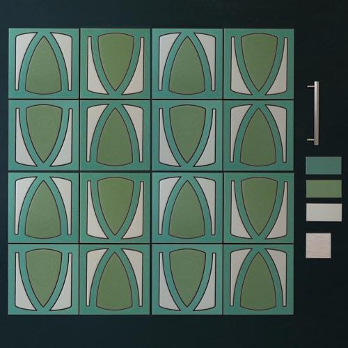 Tiles by Fireclay Tile seen at Fireclay Tile, San Francisco - Custom Los Angeles Tile