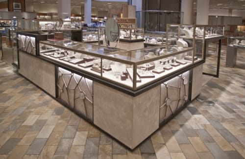 Furniture by Amuneal seen at IPPOLITA Boutique, New York - Display Unit