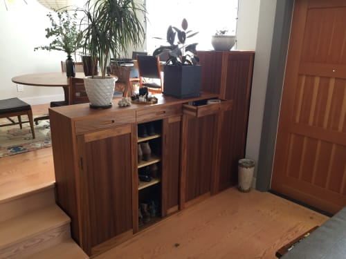 Furniture by Rigby Lovett seen at Private Residence, Oakland - Teak Cabinet