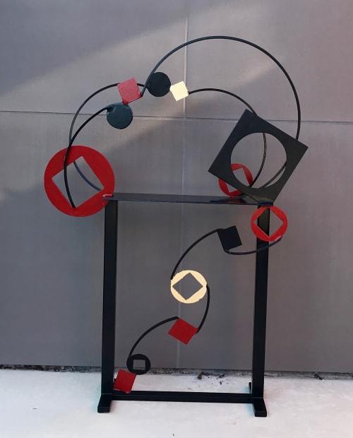 Sculptures by Doug Heine's Art Studio seen at Private Residence - Berkeley, CA, Berkeley - Periodic Table