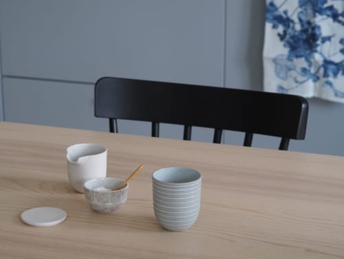 Cups by Mia Maya Design seen at That Scandinavian Feeling, Monza - Ceramic Cup and Sugar Bowl