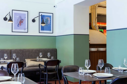 Sforno Noci, Restaurants, Interior Design