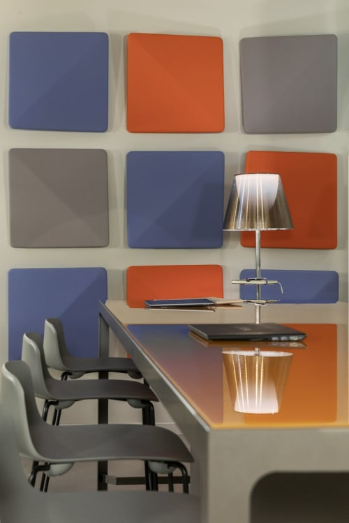 Tables by Estel Group seen at Unica Corporate Academy, Bologna - Tables