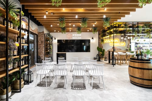 Interior Design by Studio Hiyaku seen at Ian's Health Lounge, Sydney - Ian's Health Lounge