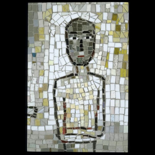 "Public Mosaics by Joanne Hammer seen at Seattle Justice Center, Seattle - ""Common Ground"""