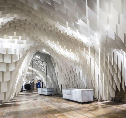 Architecture by 3Gatti seen at Chongqing, Chongqing - Fiberglass Ceiling