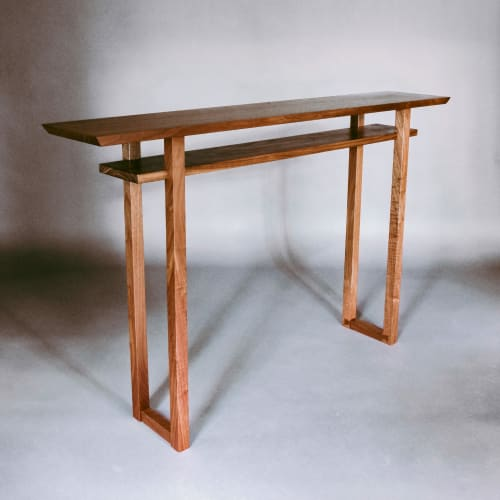 Tables by Mokuzai Furniture seen at The Line Hotel, Austin - Classic Console Table in Walnut