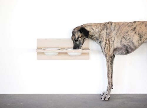 Furniture by Tuulia Penttilä seen at Ravintola Pontus, Helsinki - BLOCK & BRICK dog dining table