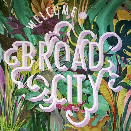 Murals by Emily Herr (HerrSuite) seen at The Broad, Richmond - Welcome To Broad City