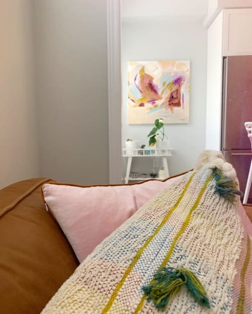 Paintings by Laura Fedorowicz seen at Private Residence, Hamilton - Abstract Painting