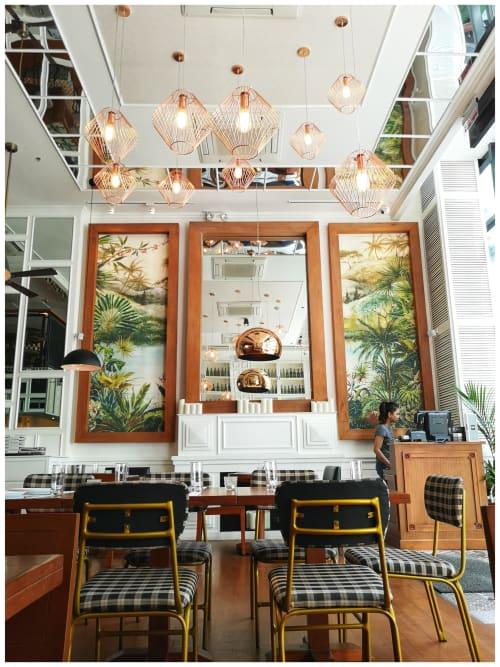 Interior Design by Headroom seen at Salcedo Village, Makati - Rambla Salcedo