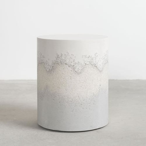 Tables by Fernando Mastrangelo seen at Private Residence, New York - Tri-Blend Drum