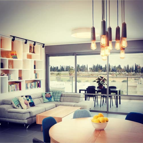 Pendants by Vaspi Studio seen at Private Residence, Rishon LeTsiyon - Falcon Pendant