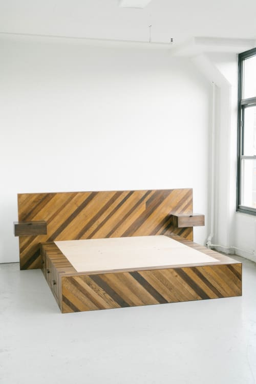 Beds & Accessories by Last Workshop seen at Private Residence, Brooklyn - Platform Storage Bed