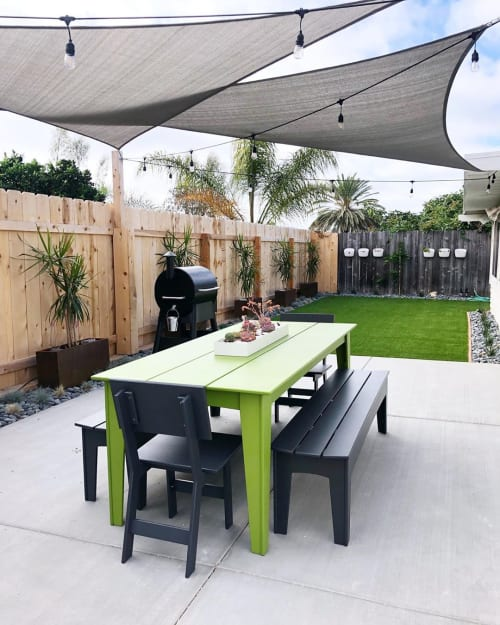 Tables by Loll Designs seen at Work Hard Plant Hard, Encinitas - Dining Set