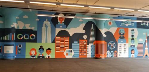 The Bay Area Muralist - Murals and Art
