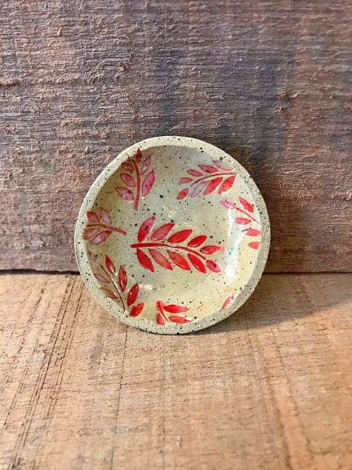 Spoon/Tea Bag Trivet | Ceramic Plates by Honey Bee Hill Ceramics