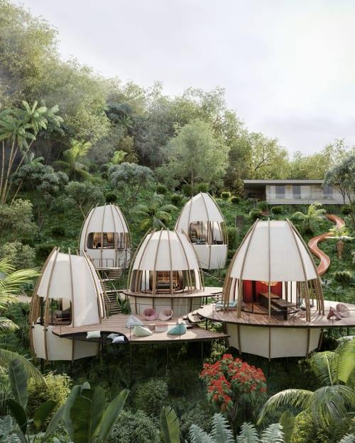 Architecture by formafatal seen at Bahía Ballena - Coco - Costa Rica