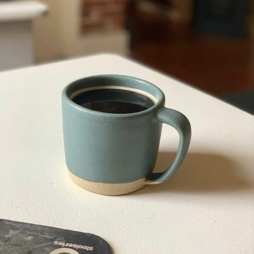 Cups by Brian Earwood seen at Memphis, TN, Memphis - Ceramic coffee mug
