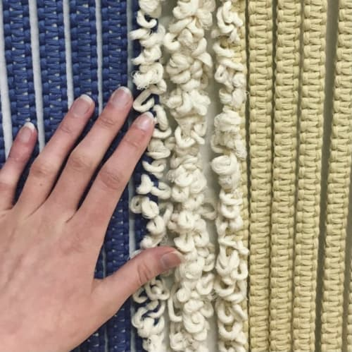 Macrame Wall Hanging by The Good Fibre seen at Creator's Studio, Dunedin - Cleanse
