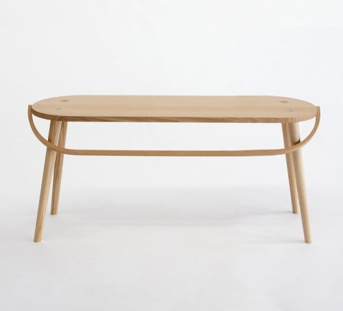 Tables by Yvonne Mouser seen at San Francisco, San Francisco - Dining Table and Bucket Bench