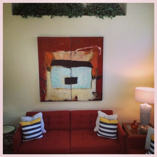 Paintings by Jan Lord Artist seen at Private Residence, Carlsbad - Sweet Dreams