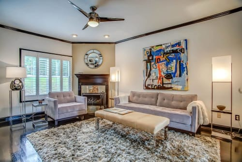 Paintings by Joseph Conrad-Ferm seen at Private Residence, Nashville - Abstract painting