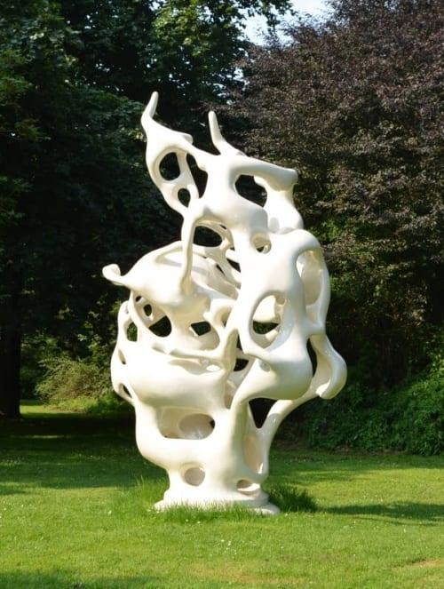 Public Sculptures by STUDIO NICK ERVINCK seen at Chateau de Foix, Foix - APSAADU