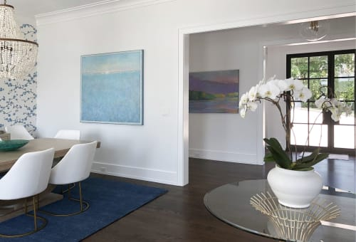 Paintings by Elwood Howell seen at Private Residence, Connecticut - It Never Was