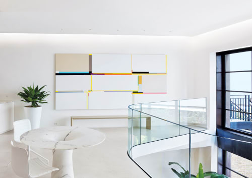 Paintings by Richard Schur seen at Private Residence, New York - White City