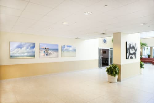 Art & Wall Decor by Artist Cheryl Maeder seen at West Palm Beach, West Palm Beach - Good Samaritan Medical Center