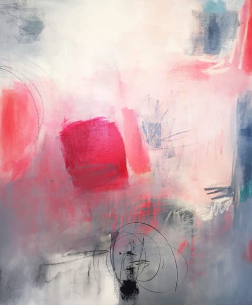 Paintings by Suzie Buchholz seen at Patricia Rovzar Gallery, Seattle, WA, Seattle - In the Pink