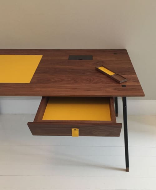 Tables by Simpson Studio seen at Private Residence, London - Hitherfield Desk