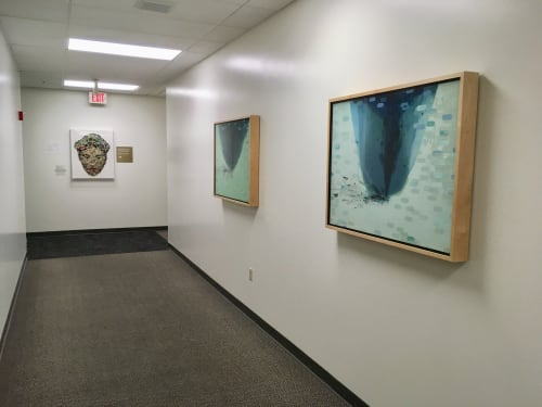Paintings by Cynthia Ona Innis seen at 2500 Fairmont Dr, San Leandro - Painting Commission, Alameda County Juvenile Justice Center