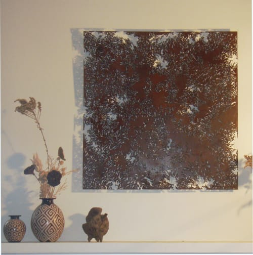 Art & Wall Decor by Denice Bizot seen at Private Residence, New Orleans - Laced