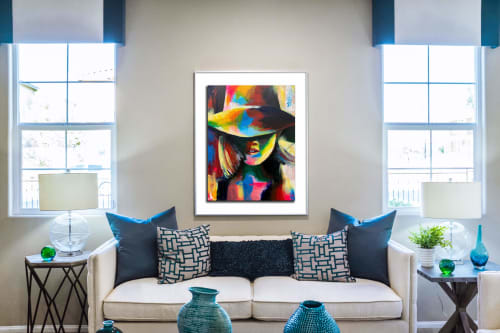 Paintings by Kelly Ser Atelier seen at Private Residence - BBBY #2, 2020