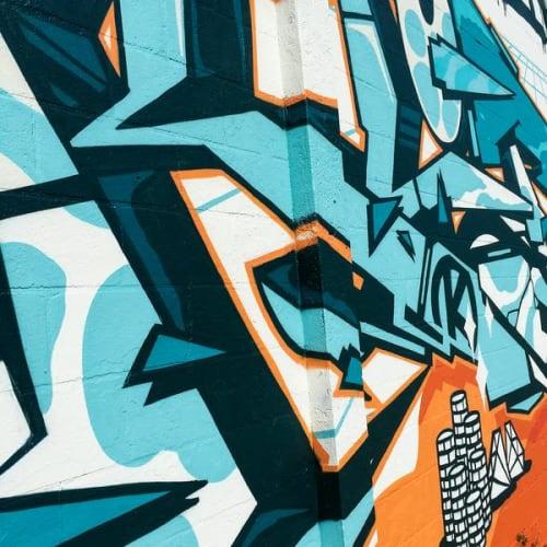 Street Murals by 123Klan seen at St. Petersburg, Saint Petersburg - Mr Card