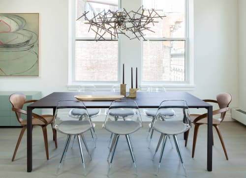 Chairs by Design Within Reach seen at Private Residence, Chelsea, New York - Chairs