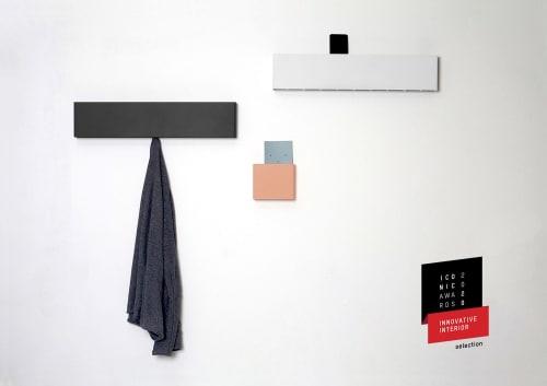 Furniture by Rahmlow seen at Bayenwerft Kunsthaus Rhenania, Köln - JAK & JAK Mini coathanger by Rahmlow