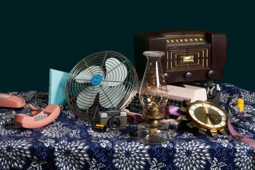Photography by Jeanette May seen at Private Residence, New York - Tech Vanitas: Electric Fan