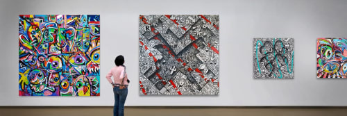 Ramon Bruin - Paintings and Art
